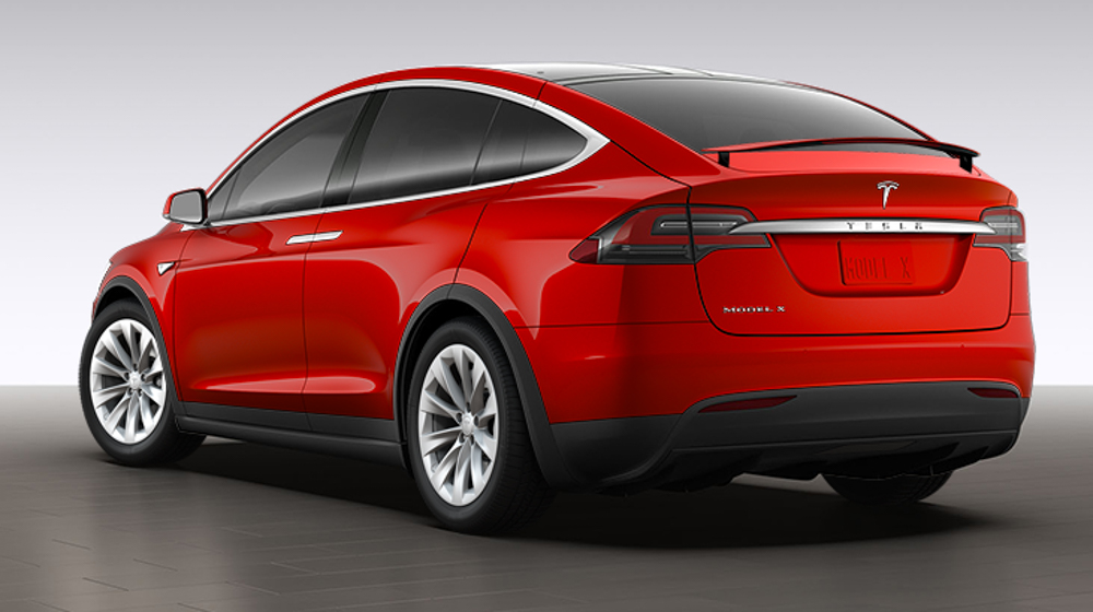 Tesla Rear
